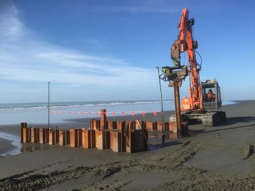 Ocean outfall maintenance