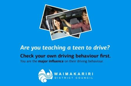 Teaching a teen to drive