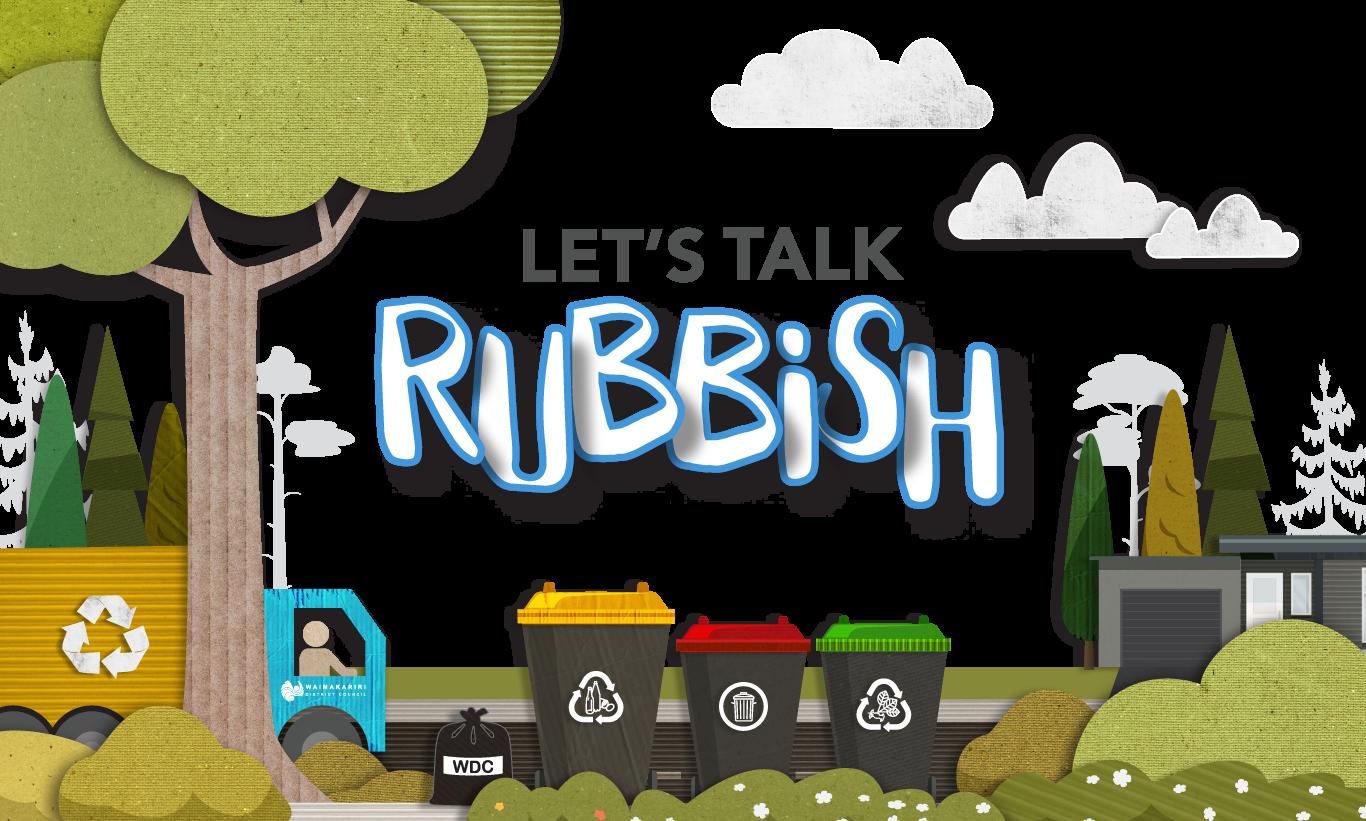 Let's Talk Rubbish Header