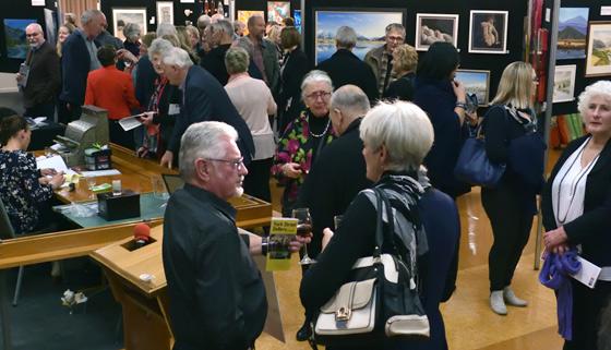 Kaiapoi Art Expo Draws Crowds thumbnail image.