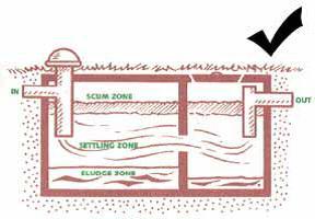 Septic tank sludge - right way