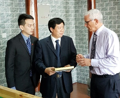 Mayor David Ayers Enshi Visit