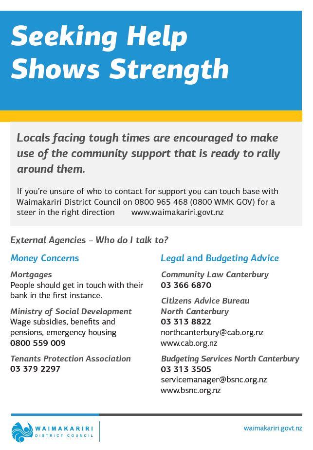 image of seeking help shows strength brochure
