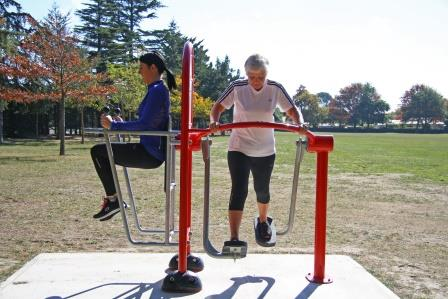Dudley park fitness equipment