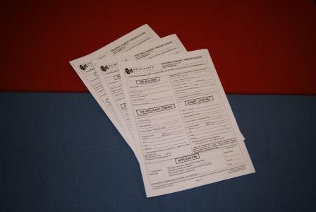Building application forms and fact sheets thumbnail image.