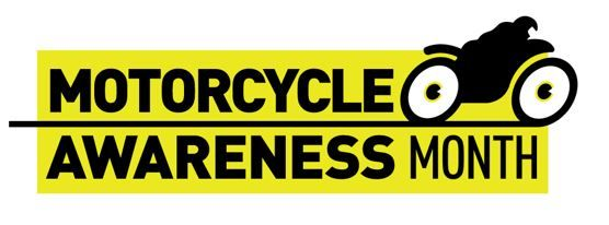 Logo for Motorcycle Awareness Month