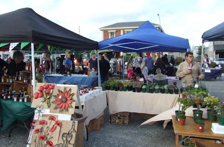 Kaiapoi market