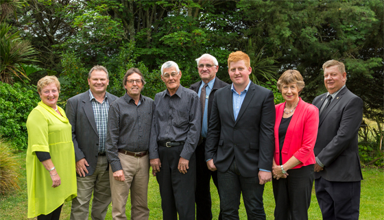 Image of Oxford-Ohoka Community Board members