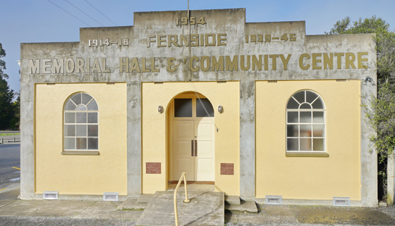 Fernside Memorial Hall thumbnail image.