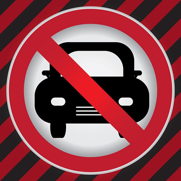 No Car Access