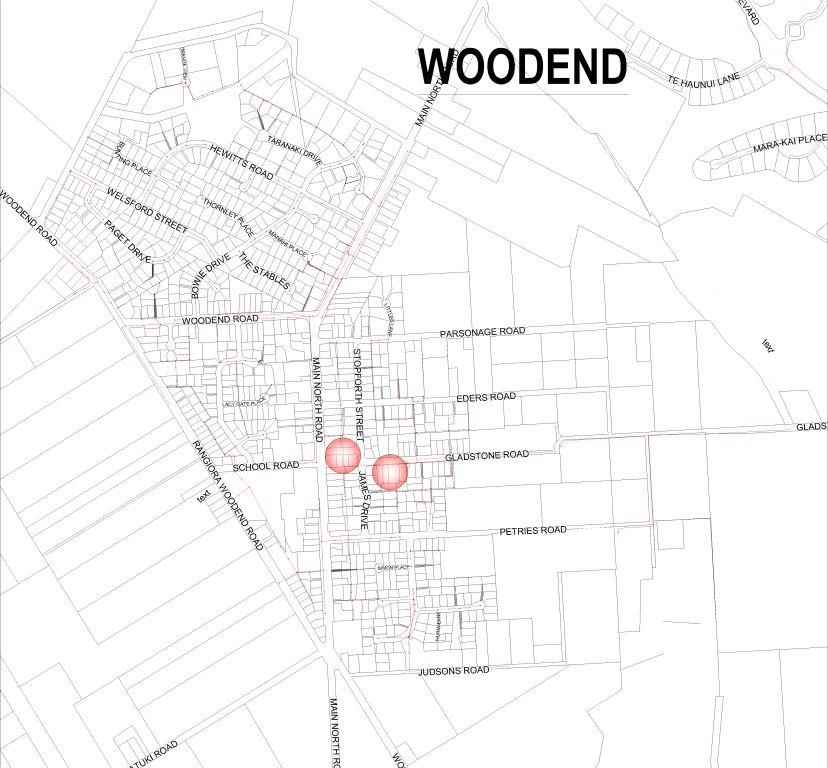 Woodend sewer relining map