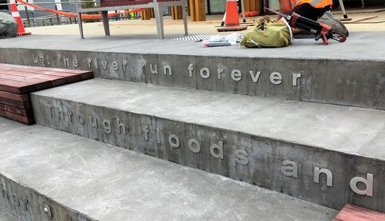 Poem Written on Terrace Steps
