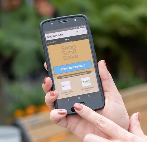 Screenshot of Snap Send Solve