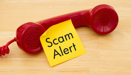 Warning About Scam Calls thumbnail image.