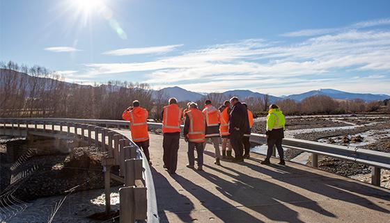 Council Staff Assess Flood Damage