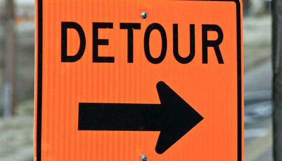 Detours for Kaiapoi West Residents thumbnail image.