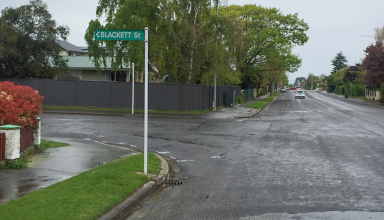 Detours in Place for West Belt/Blackett Street Intersection thumbnail image.