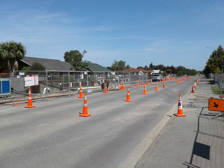 Sewer Upgrade Progress Along King Street