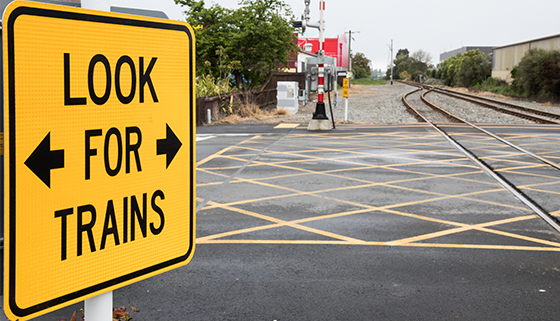 Looking Twice at Train Tracks May Save Your Life thumbnail image.