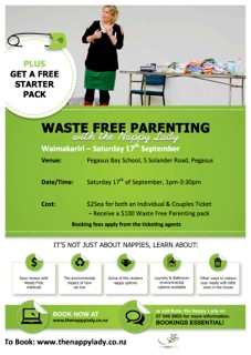 Waste Free Parenting Workshops are coming to Waimakariri thumbnail image.