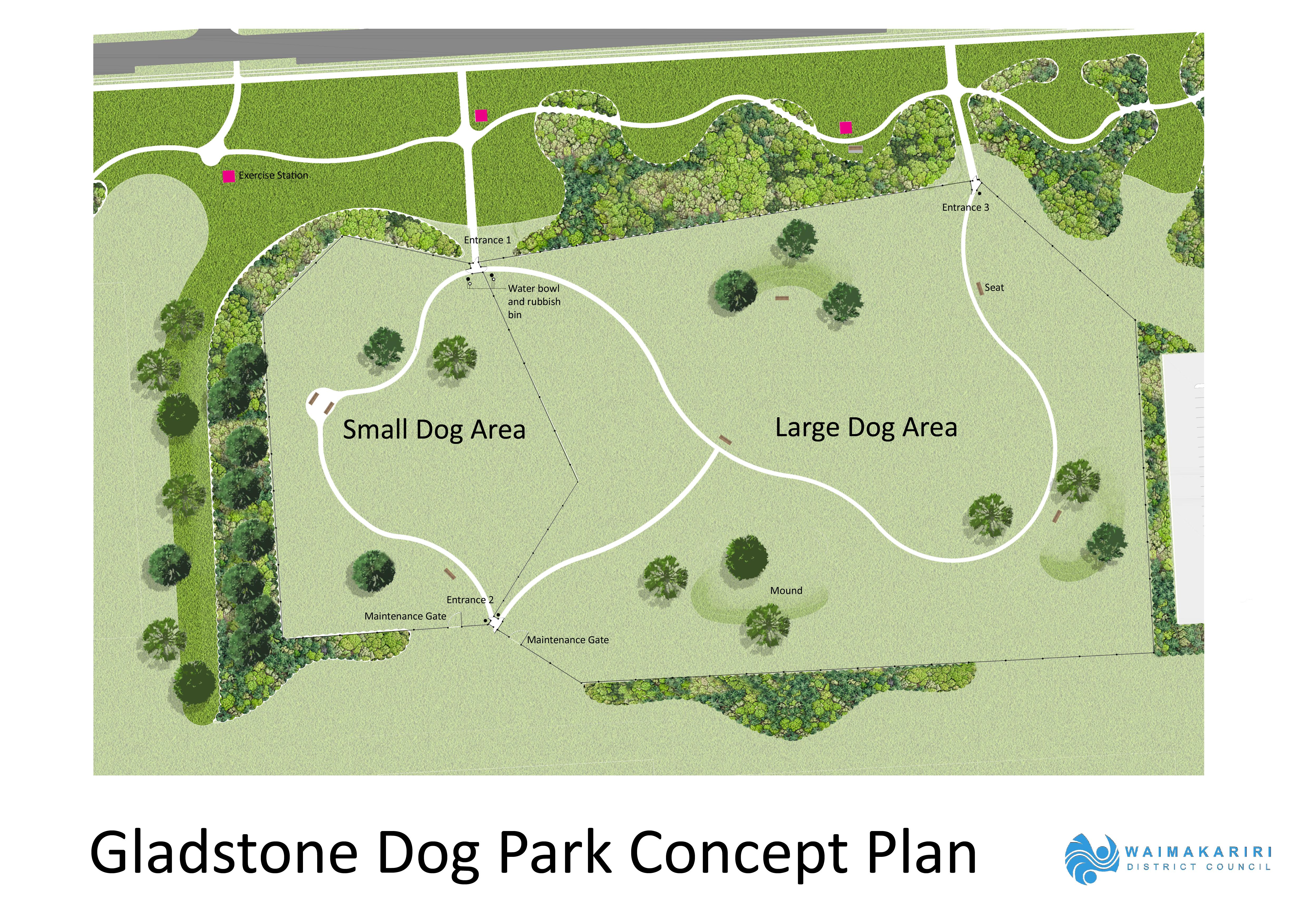 Dog Park Concept Plan