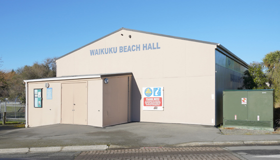 Waikuku Beach Hall thumbnail image.
