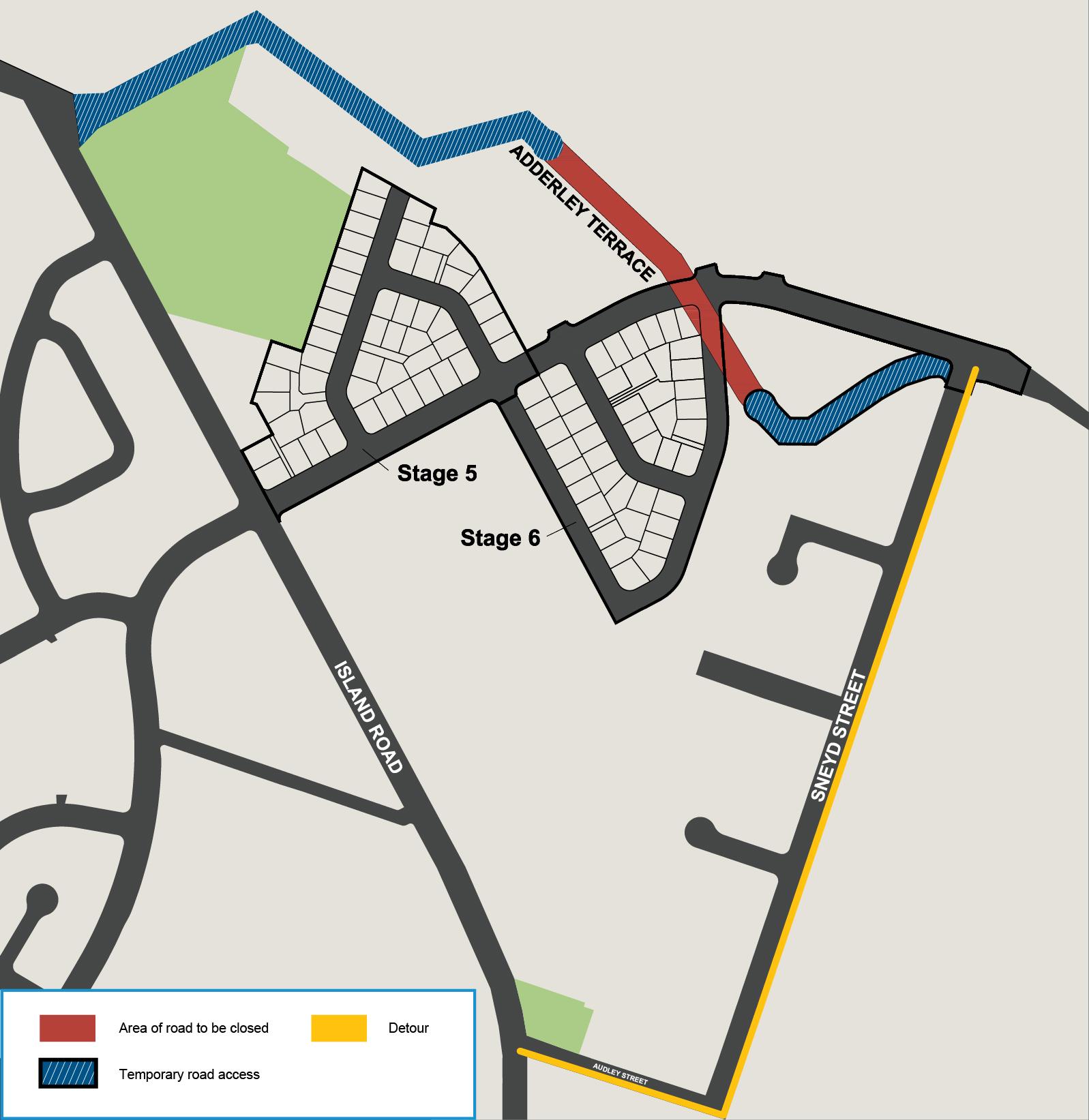 gDetour Route Map